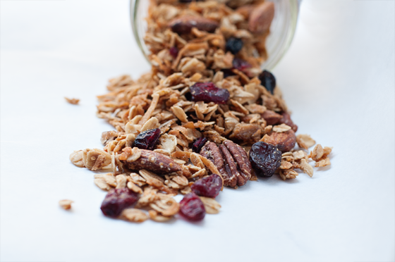 Maple-Granola
