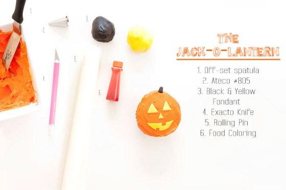DIY Halloween Cupcakes